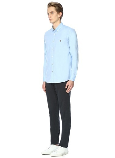 Oxford Yaka Slim Fit Uzun Kollu Gömlek-Beymen Club